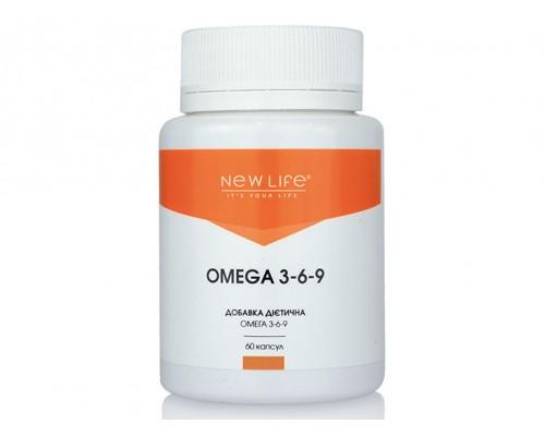Добавка диетическая OMEGA3-6-9 (ОМЕГА3-6-9),60 капсул