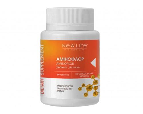 Добавка диетическая АМИНОФЛОР(AMINOFLOR), 60таблеток