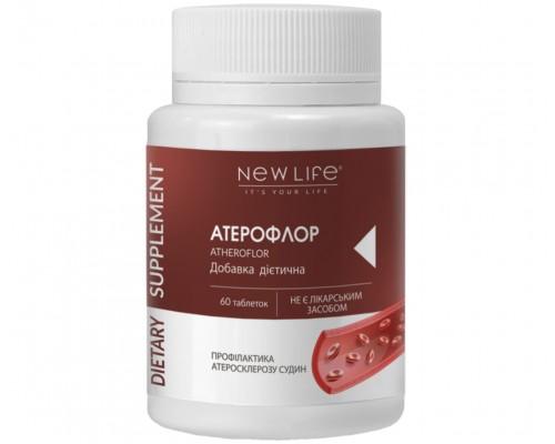 Добавка диетическая АТЕРОФЛОР(ATHEROFLOR), 60таблеток