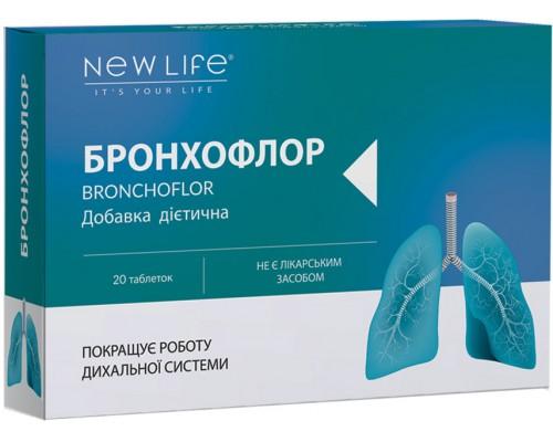 Добавка диетическая БРОНХОФЛОР(BRONCHOFLOR), 20таблеток