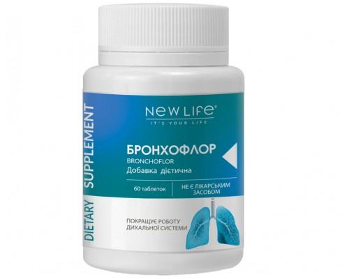 Добавка диетическая БРОНХОФЛОР(BRONCHOFLOR), 60таблеток